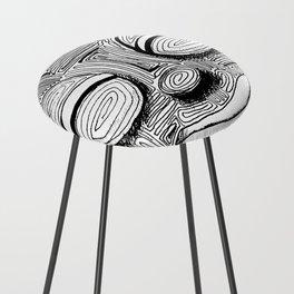 '恐怖核心與小鳥 Scarecore and Bird' Cover Illustration 2 Counter Stool