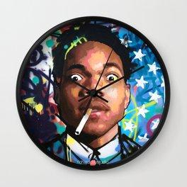 CHANCE the RAPPER--ART Wall Clock