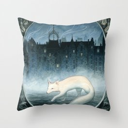 Boundary Walker Throw Pillow