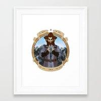 nori Framed Art Prints featuring The Key by BlueSparkle