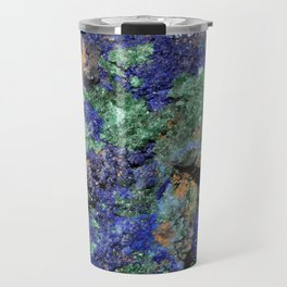 Malachite and Azurite Travel Mug