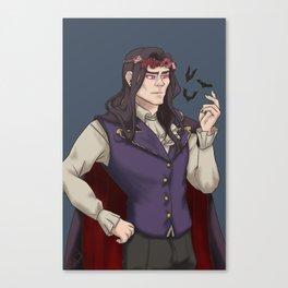 Flower Daddy Canvas Print