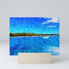 saona island Mini Art Print