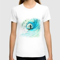 surfer T-shirts featuring Surfer by Bruce Stanfield