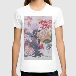 Abstract Roses T-shirt
