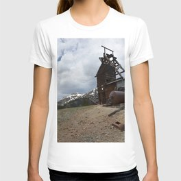 At the Longfellow Mine, elevation 11,080 feet, No. 3 of 13 T-shirt