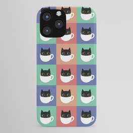 Coffee Cat iPhone Case