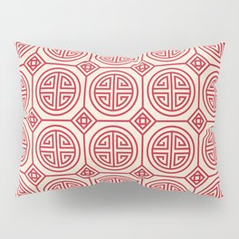 Traditional Chinese Pattern Pillow Sham