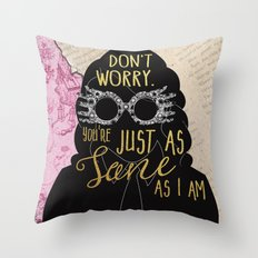 Luna Lovegood - Sane Throw Pillow