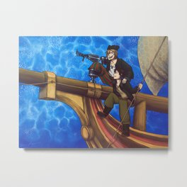 Treasure Planet Metal Print