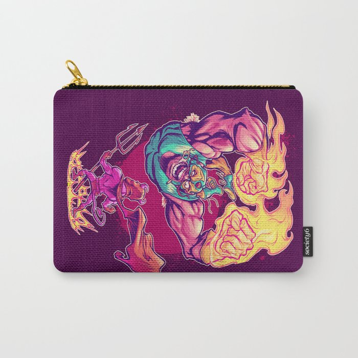LUCHADORO VS EL DIABLO Carry-All Pouch