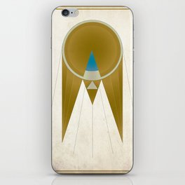 Art Deco Golden Snitch iPhone Skin