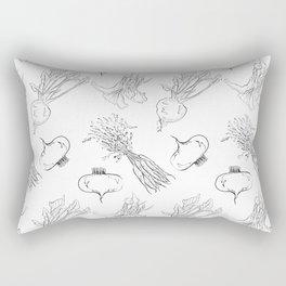 Vegetable pattern Rectangular Pillow