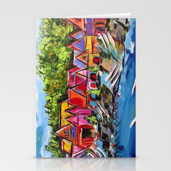 Philadelphia's Boathouse Row Stationery Cards