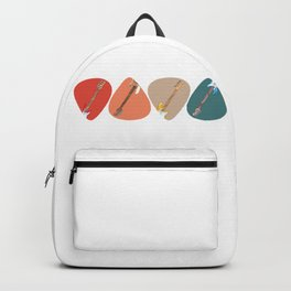 Bass Guitar Picks Backpack