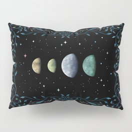 Moons of Jupiter Pillow Sham