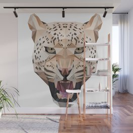 Leopard Head Wall Mural
