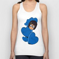 tina fey Tank Tops featuring Tina Belcher  by Moremeknow