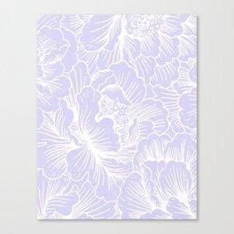 Lavender Floral Canvas Print