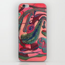 Abstract flow #1 iPhone Skin