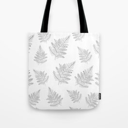 Farn Pattern Tote Bag