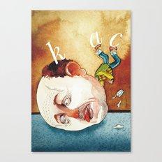 Hangover Canvas Print