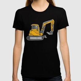 Digger excavators dredger T-shirt