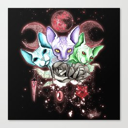 cerberus sphinx Canvas Print