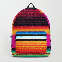 Magenta Sky Serape Backpack