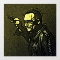 u2 Canvas Prints featuring U2 / Bono 1 by JR van Kampen