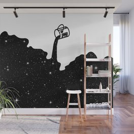 Space Paint Wall Mural
