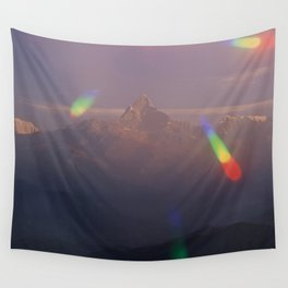 The Machapuchare Shine Wall Tapestry