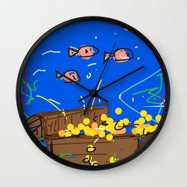 Treasure Wall Clock
