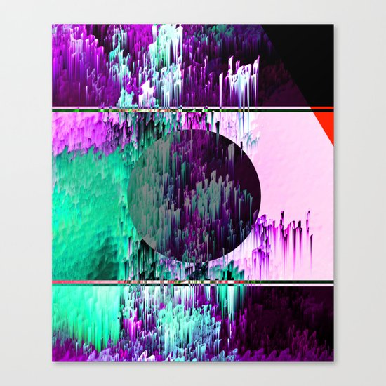 Dart Dash Canvas Print