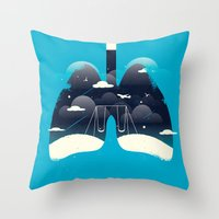 tfios Throw Pillows featuring TFIOS by Risa Rodil