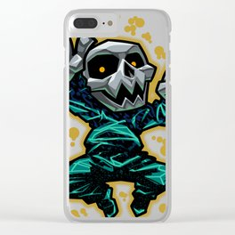 Skull Dancer Clear iPhone Case