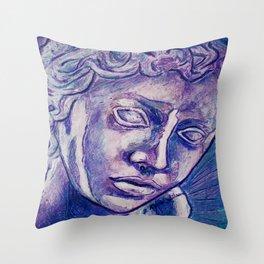 Don't Blink Throw Pillow