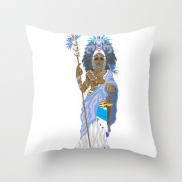 Obatala Throw Pillow