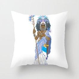 Obatala Throw Pillow