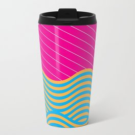 .Waves Metal Travel Mug