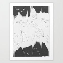 Artistic Shaped Scan Art Print
