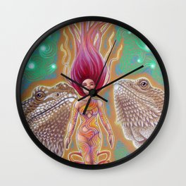 Dragon's Call Wall Clock