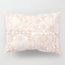 MOROCCAN TILES ROSEGOLD Pillow Sham