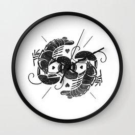 Lobster Love Wall Clock