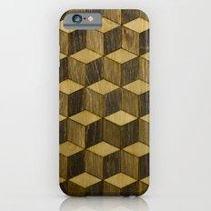Optical wood cubes Slim Case iPhone 6s