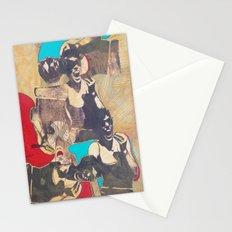 silkscreen test sheet Stationery Cards