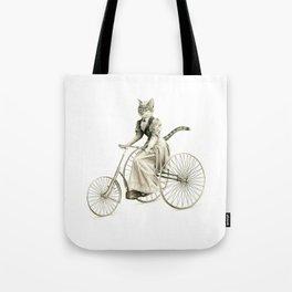 Victorian Cat Series 03 Tote Bag