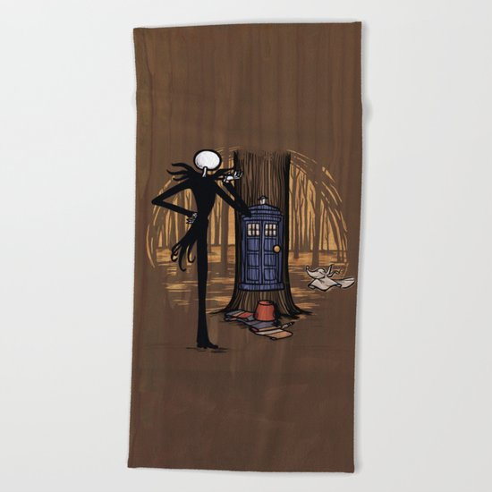 What's This? What's This? Beach Towel