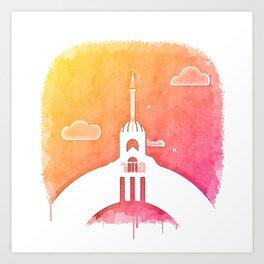 Mecca Dream Art Print
