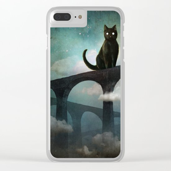 Into the Night Clear iPhone Case